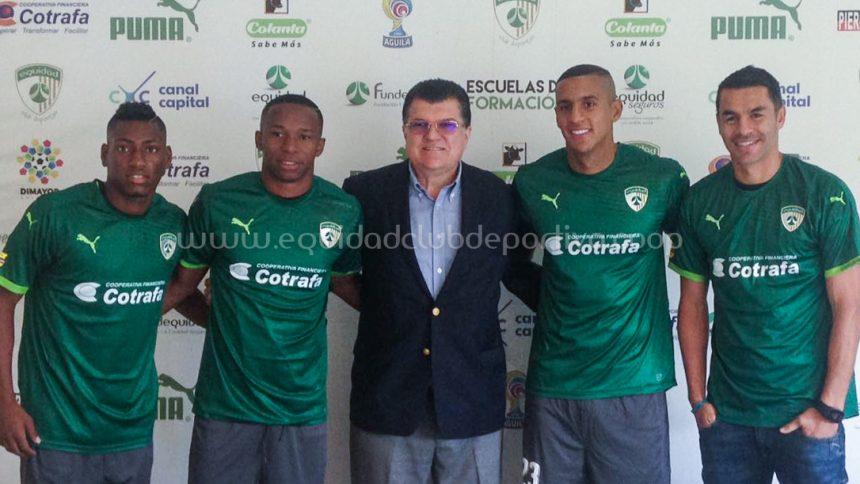 Francisco Nájera, William Parra y Mauricio Cortes también son 'Aseguradores'