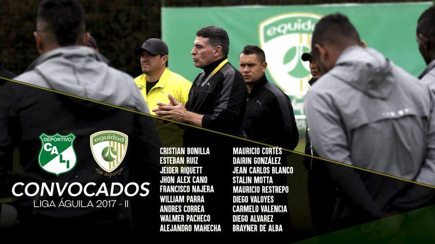 Convocados vs. Deportivo Cali