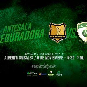 Antesala 'Aseguradora': Duelo frente a Rionegro Águilas