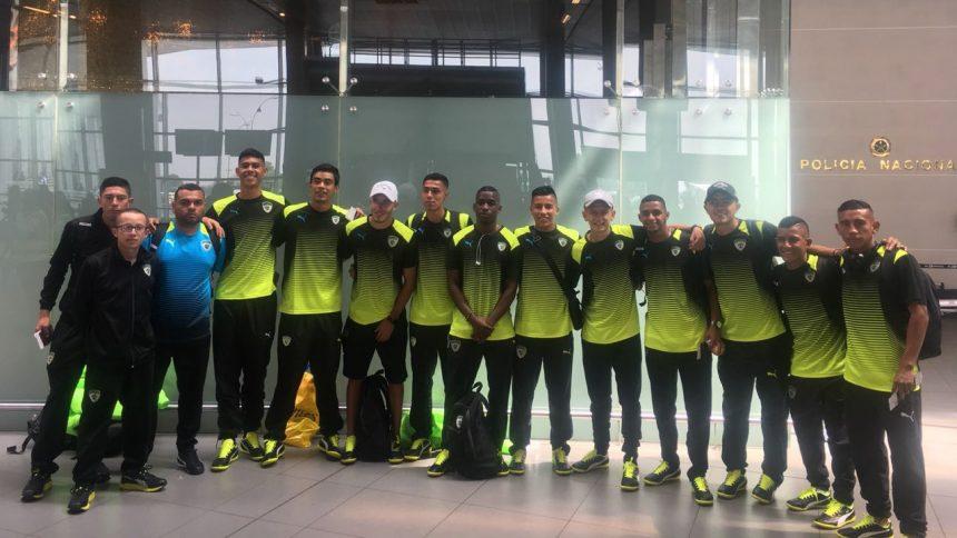 El equipo Sub20 viajó a Uruguay