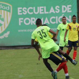 Se jugó amistoso entre nuestro equipo Sub 20 y la Selección Colombia de la categoría