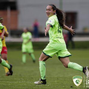 Triunfo por goleada en el cierre de la Liga Femenina