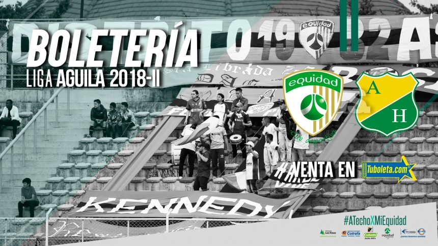 Boletería vs. Atlético Huila por Liga Águila
