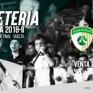 Boletería vs. Junior por cuartos de final