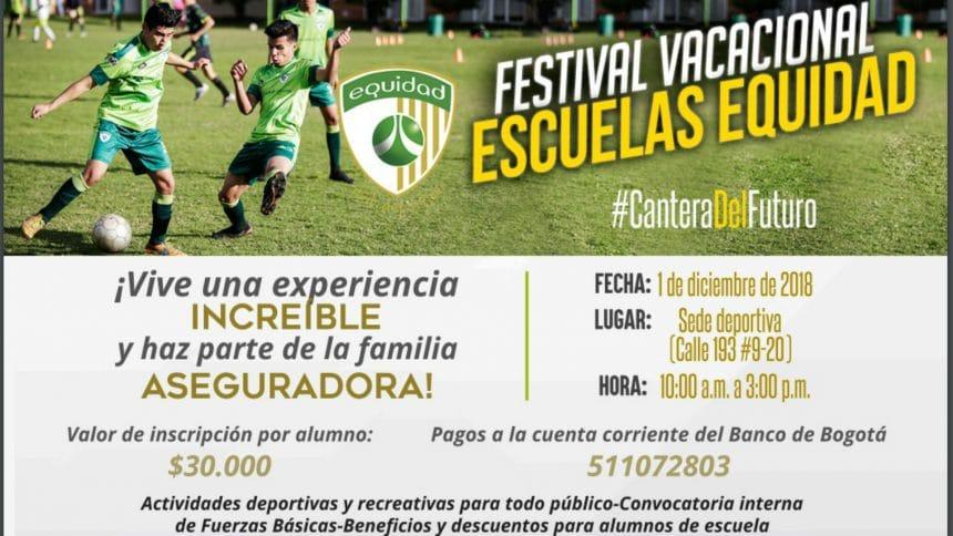 1º Festival Vacacional Escuelas Equidad