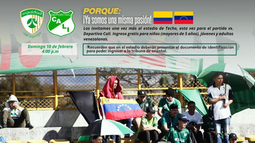 Hermanos venezolanos, siguen siendo bienvenidos