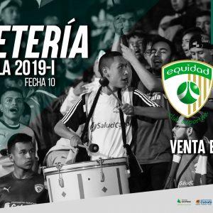 Boletería Vs. Patriotas Liga Águila 2019-I