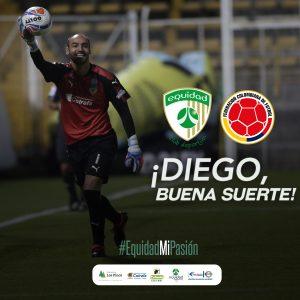 Diego Novoa, llamado a la Selección Colombia