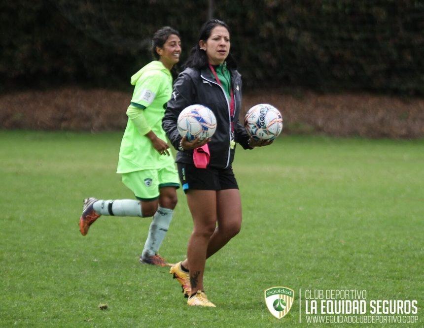 Sandra Salamanca, nueva 'D.T.' del equipo profesional femenino