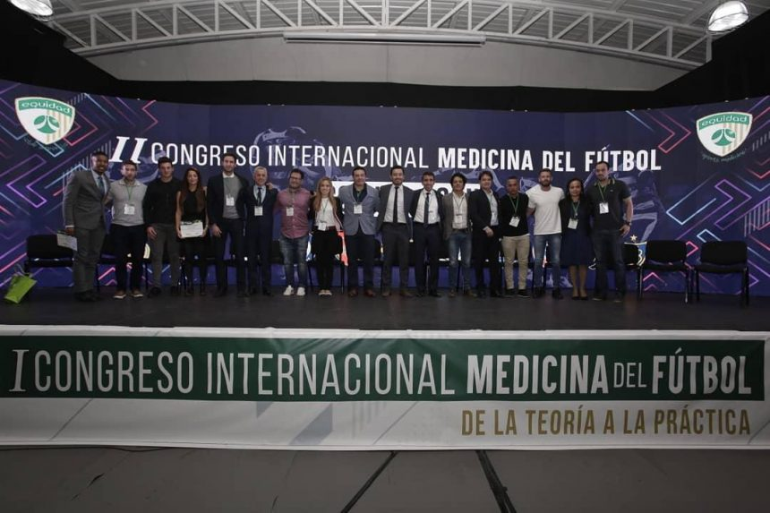Un éxito total, el I Congreso Internacional Medicina del Fútbol