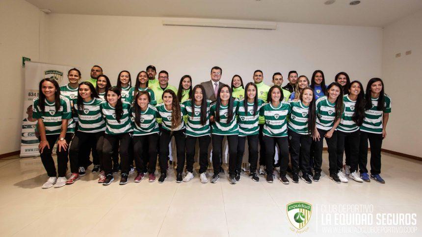 Presentación oficial: equipo profesional femenino 2019